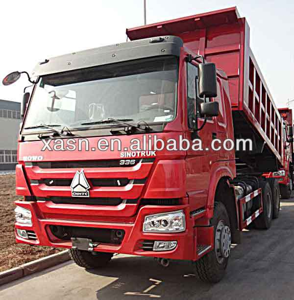 The lowest price for the latest HOWO 6x4 engine dump truck for sale