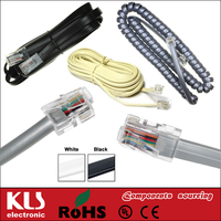 Good Quality Telephone Cords UL CE