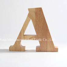2017 High Quality MDF Customized Size Free Standing Wooden Art Crafts ,Home Decoration Christmas Gift Wooden Letters