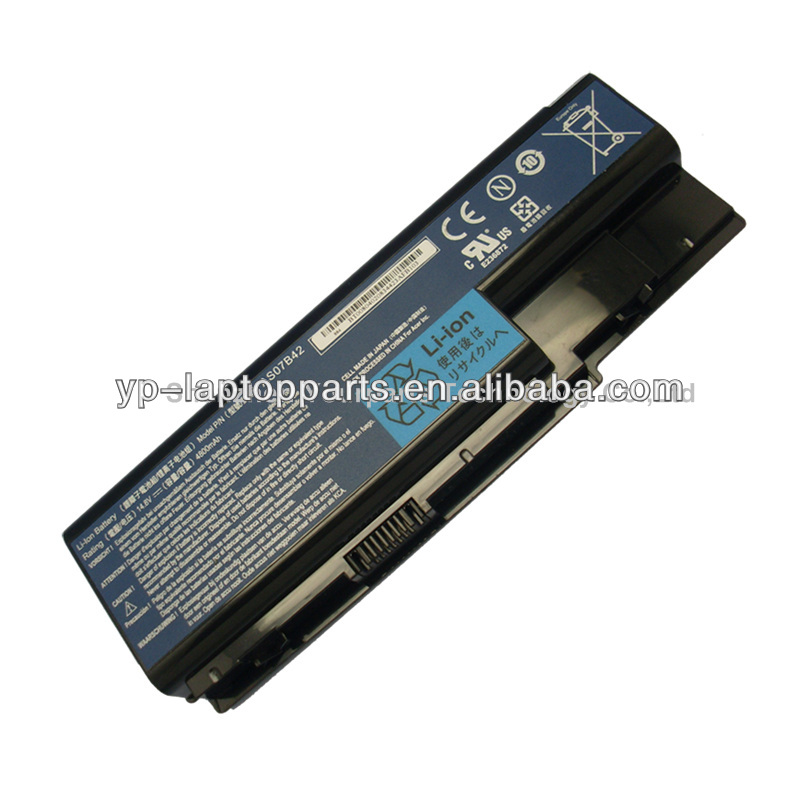 4800mAh wholesale laptop batteries For Acer AS07B42 AS07B32 AS07B52 AS07B72 5310 8930 series