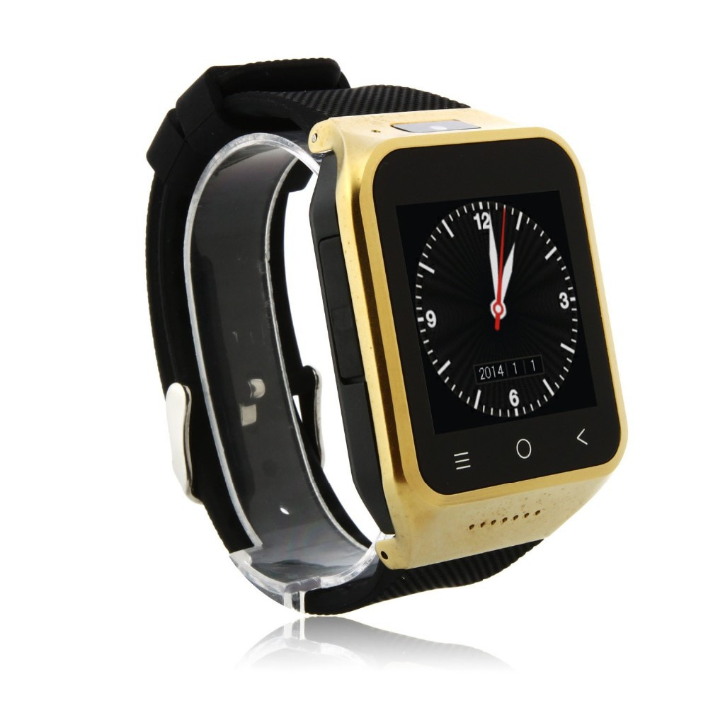 ZGPAX S8 Watch Phone Android 4.4 MTK6572W Dual Core 1.54 Inch 3G 512MB 8GB GPS