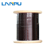 class 220 varnished rectangular copper magnetic wire for sale