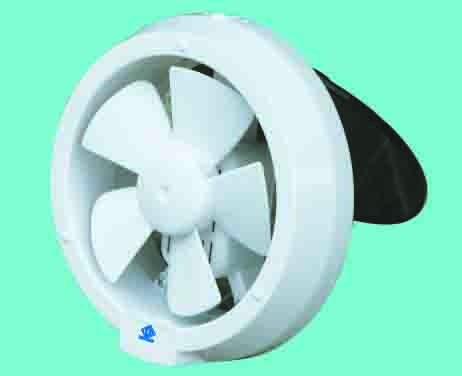 "Full Plastic glass mounted exhaust fan 6""and 8"""