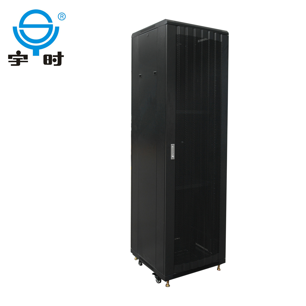New design curved concano-convex meshed 19 inch network rack for data center, ARC sever cabinet