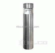 high end quality Meanwell driver outside garden lighting 13W IP65 waterproof stainless steel led bollard light