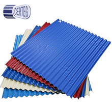 Best quality zinc color coated corrugated roof sheet steel