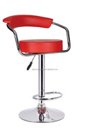 Synthetic pu Modern Adjustable Swivel Barstools/chair bar stools