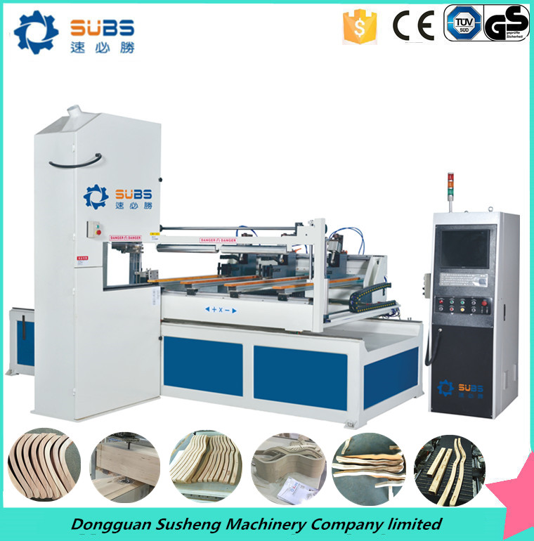 High quality 2m processing length CNC wood cutting band saw mill machine