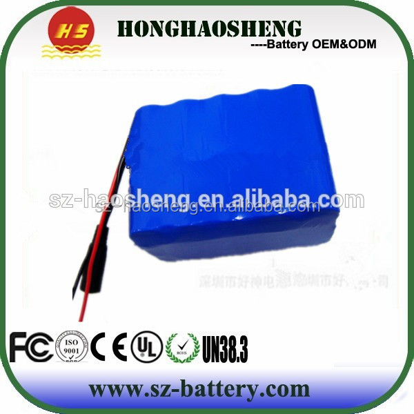 HHS portable battery rechargeable li-ion battery made in China 6-dzm-12 12v 12ah batteries