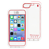 Snugg case for iPhone 5 Tuff Case in White and Red