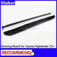 Running Board for Toyota Highlander 15+ auto parts Side Step from Maiker 4*4 accessories