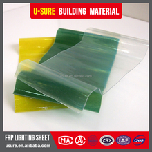 Wholesale greenhouse translucent fiberglass reinforced polyester roofing sheet sizes