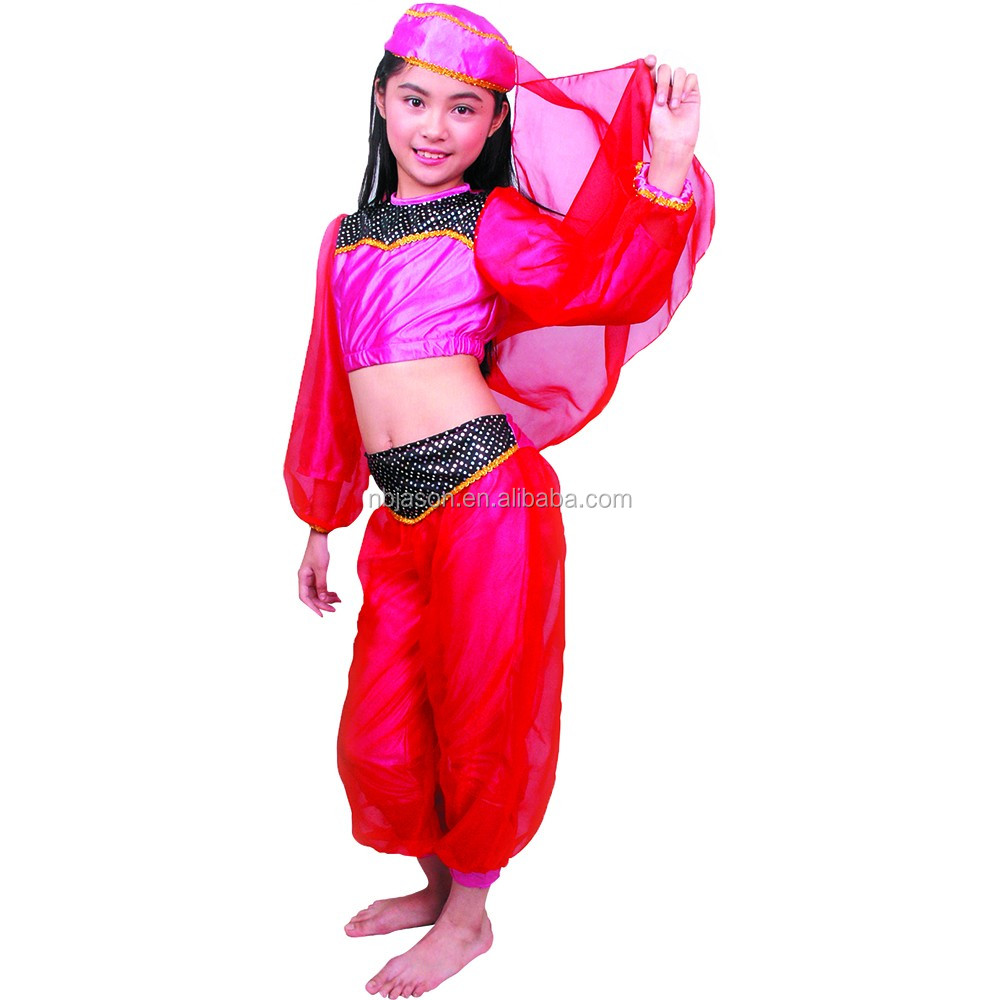 Girls` Belly Dance Costume For Kids