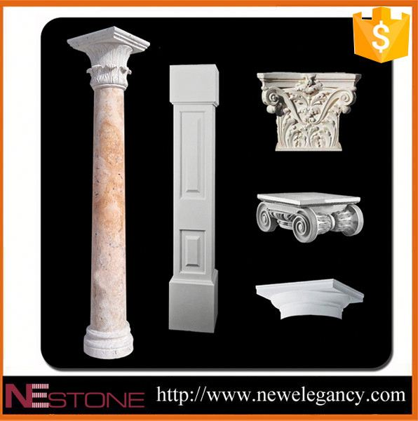 Beautiful decorative natural column base cover