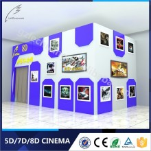 High Safety 8D/9D/Xd Cinema Amusement Park Equipment Simulator Cinema 5D 6D 7D
