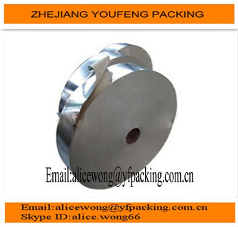 high quality 60 gsm silver aluminum foil paper for chewing gumpackaging
