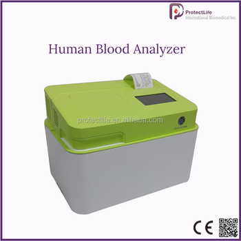 Medical full auto testing humans portable blood analyzer