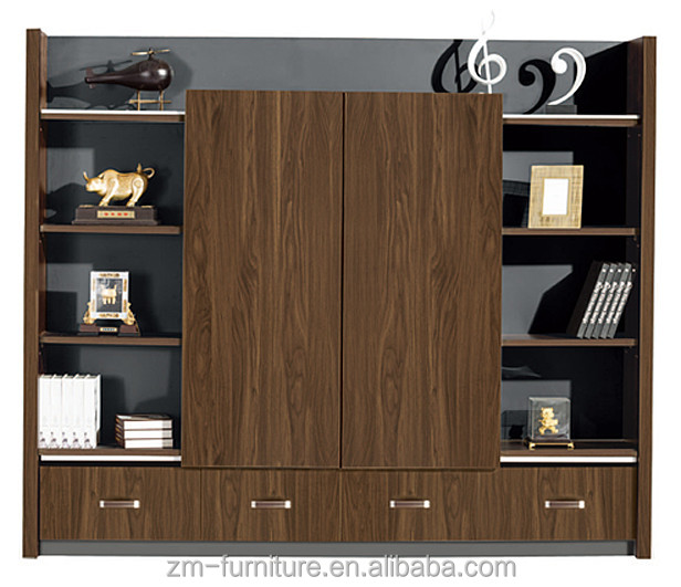 Classical Design Wooden File Cabinet Office Cabinet