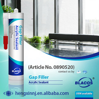 Multi Purpose Paintable Broad Adhesion Acrylic Sealant Gap Filler To Fill Gap