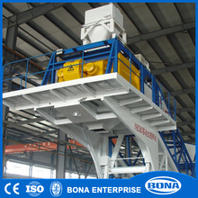Wheel Type Easy To Operate Mobile Concrete Mixer Batching Plant