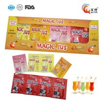 Assorted fruity flavor orange juice concentrate powder