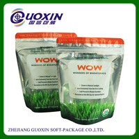 whey protein powder zipper food package bag