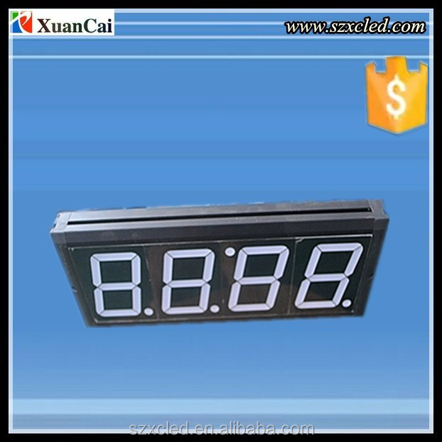 Hot sale 8.8:88. _7 Segment LED Ditital Clock Display/Sign/Board from China