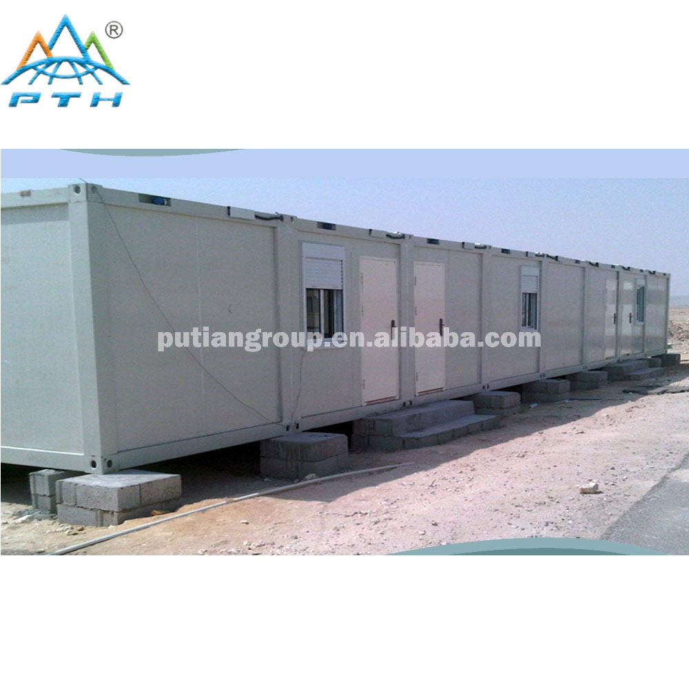 Prefabricated modular container house for mining camp/accommodation