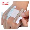 Medical disposables non woven adhesive wound dressing OEM
