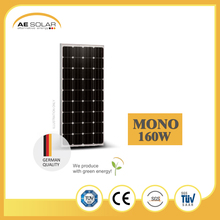 High Efficiency AE M6-36 Series 160W-180W Monocryst Solar Panel For Industry And Factory Directly Sale Solar Panel