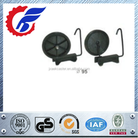 95mm Plastic Luggage Wheels With Iron