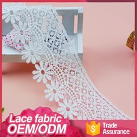 Wholesale new fashion style water soluble african lace fabrics switzerland swiss voile lace