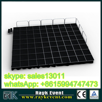china portable outdoor concert stages,acrylic display