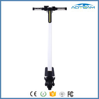 23km/h Max speed folding brushless motor electric scooter 2 wheels ultra portable scooter for adults
