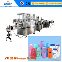 baby feeding bottle filling capping and labeling machine