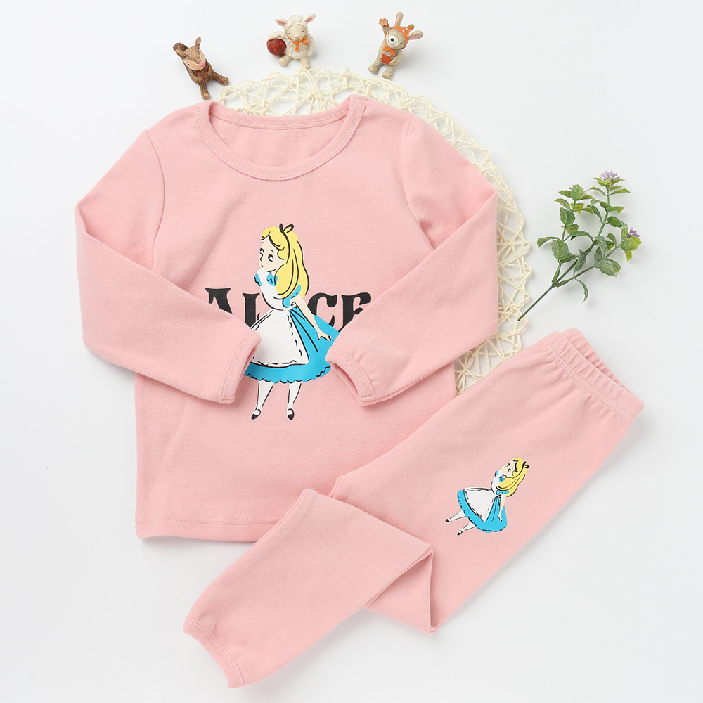 Children Pajamas Suits Girls And boys clothing set Cotton wholesale clothing distributors