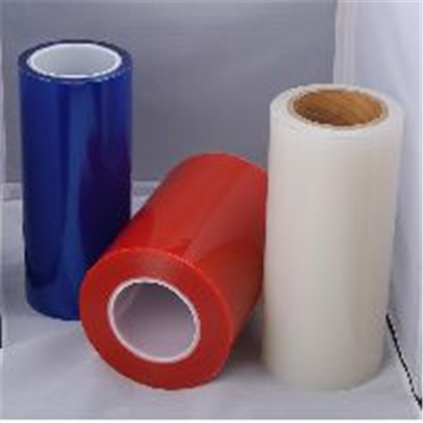 high quality blue PE protective shrinkable film from shanghai
