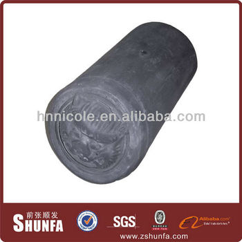 attractive Chinese style oriental unglazed roofing tiles for shaolin temple