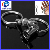 Hot Selling Detachable Pull Apart Quick Release Keyring