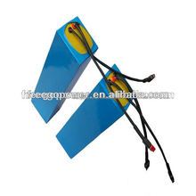 24v 10ah li ion battery pack in heat shrink tube wrapped for electric bicycle