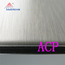 brushed dibond aluminum composite panel/sheet materials for printing