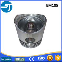 Small horizontal diesle engine EM185 parts engine piston assy