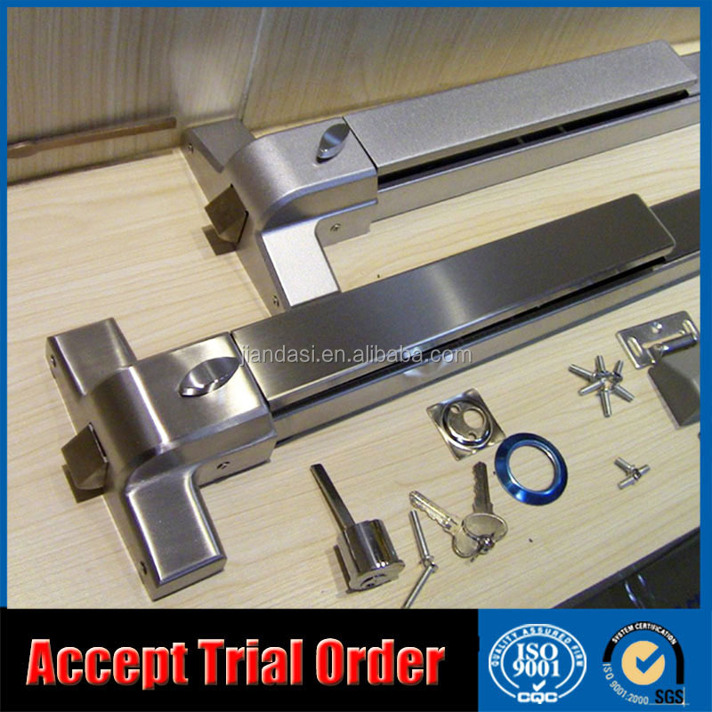 Emergency Exit Door Lock Hardware Panic Push Bar