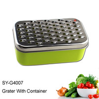 SY-G4007 Vegetable Cheese Grater with Container Single Blade