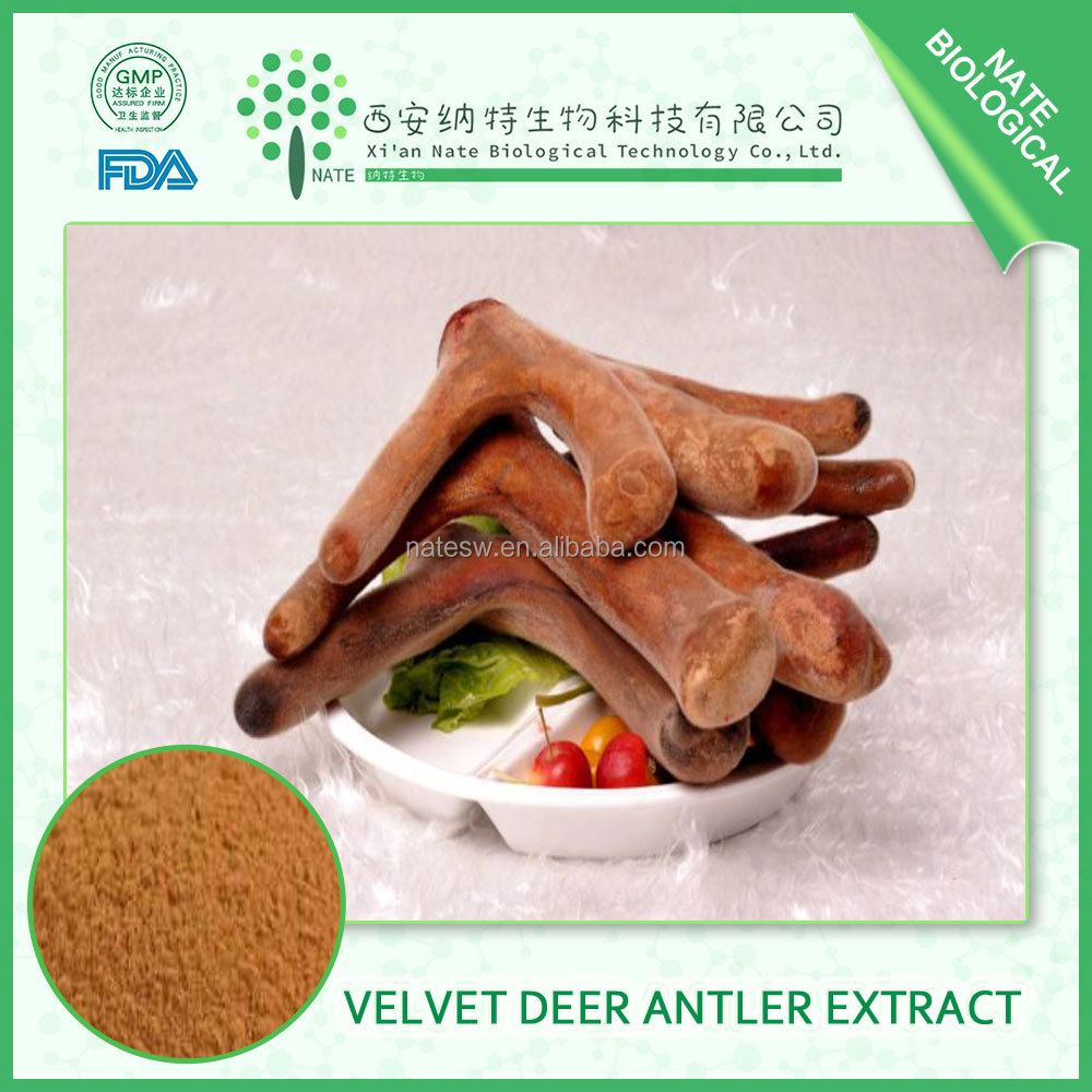 china SEX product Velvet Deer Antler Extract powder high quality for men's health