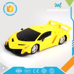 Wholesale best price 7 channels car heat rc with light and music transformable car toy