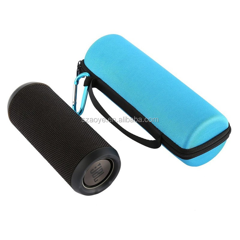 Hard Shell EVA Carring Case Shockproof Travel Zipper Storage Bag for JBL Flip 3 Bluetooth Portable Speaker (Blue)