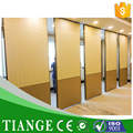 Auditorium Interior Wooden Acoustic Movable Wall Partition Folding Partition