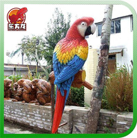 Animatronic Parrot craft with realistic sound and movements