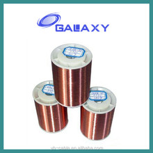 Polyester-imide enameled aluminum round wire base coat in polyester, class 130